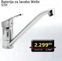 Baterija za lavabo Welle STH