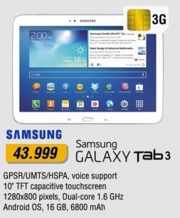 Tablet Galaxy Tab3
