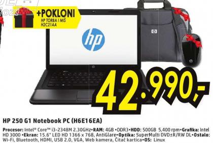Notebook 250 G1 -  H6E16EA