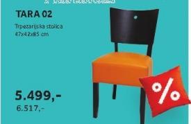 Trpezarijska stolica TARA 02