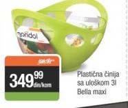 Plastična činija sa uloškom 3L - Bella maxi