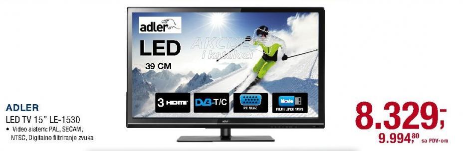 "Televizor LED 15"" LE-1530"