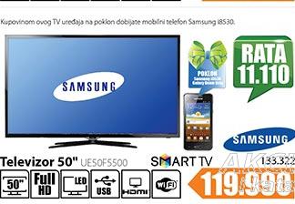 Televizor LED UE50F5500