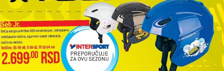 Kaciga za skijanje Seb.Jr.