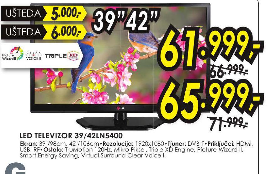 LED Televizor 39LN5400