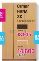 Ormar HANA 3K