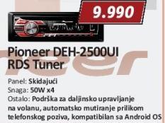 Auto radio Deh-2500ui + Poklon Besplatna ugradnja
