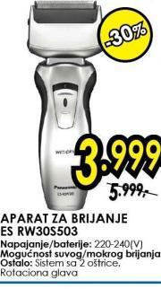 Aparat za brijanje ES RW30S503