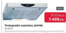 Aspirator DU 611 E