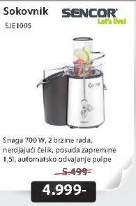 Sokovnik SJE1005