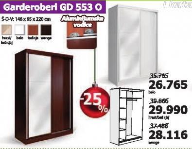 Garderober Gd 553 O