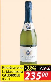 Penušavo vino La Marchesina