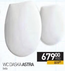 Daska za WC šolju Astra