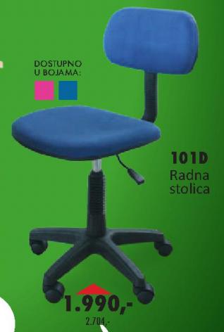 Radna stolica 101D