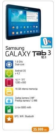 Tablet Galaxy Tab3 10.1