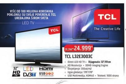 Televizor LED L32E3003C