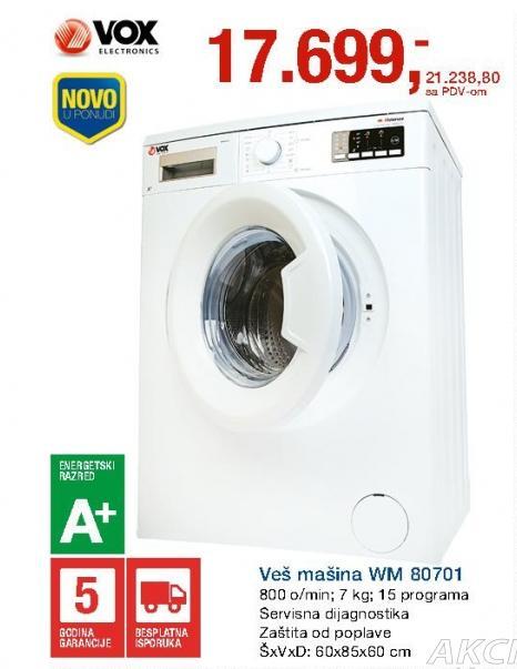Veš Mašina WM 80701
