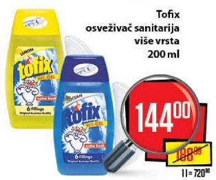 WC osveživač Tofix