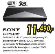 Blu-ray plejer 3D Bdps 4200