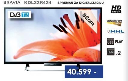 Televizor LED LCD Bravia KDL32R424