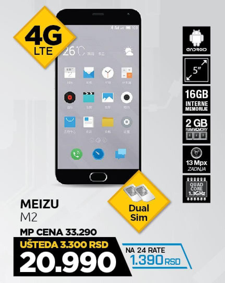 Mobilni telefon Meizu M2