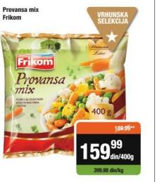 Smrznuto povrće provansa mix