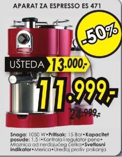 Aparat za espresso ES 471