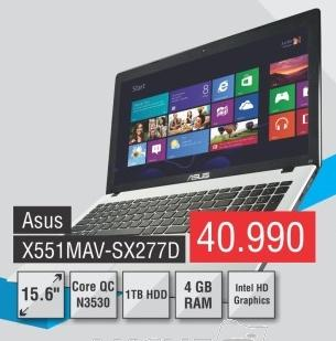 Laptop X551mav-Sx277d
