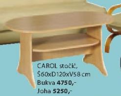 Stočić Carol, Joha
