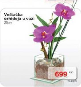 Veštačka Orhideja u vazi