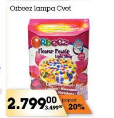Lampa cvet Orbeez