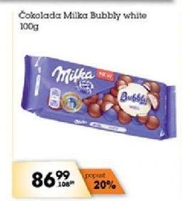 Čokolada bubbly milk