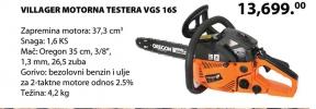Motorna testera VGS 165