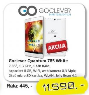 Tablet Quantum 785 White