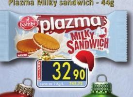 Keks Milky sandwich