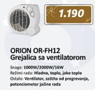 Grejalica sa ventilatorom ORION OR-FH12