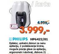 Epilator HP6422/01