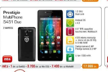 Mobilni telefon  5451 Duo