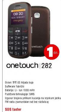 Mobilni telefon One Touch  282