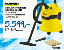 Usisivač za suvo i mokro usisavanje WD 2.200