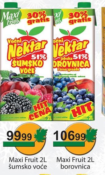 Sok šumsko voće