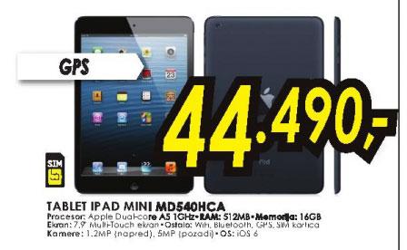 Tablet iPad Mini MD540HC/A
