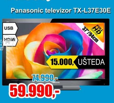 Televizor LED TX-L37E30E