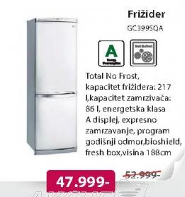 Kombinovani frižider GC399SQ