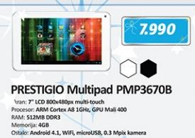Tablet MultiPad PMP3670B