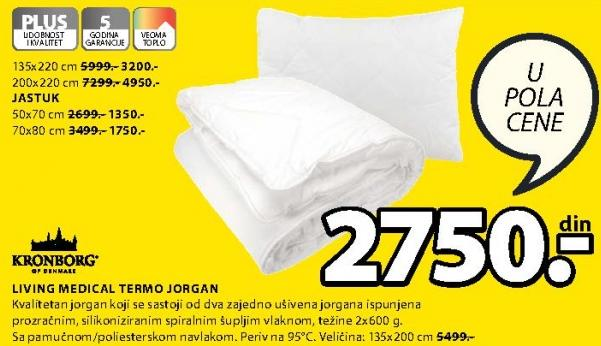 Jorgan Termo Living Medical 200x220cm