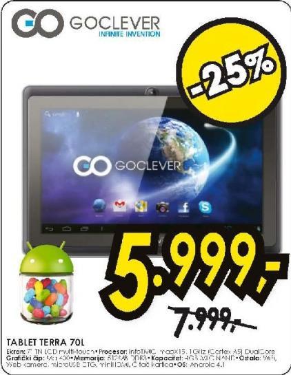 Tablet PC TERRA 70L