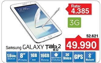 Tablet Galaxy Tab 2 8.0