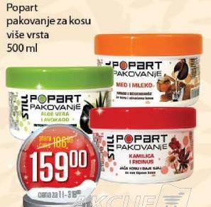 Maska za kosu Popart