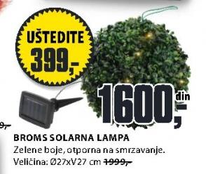 Solarna lampa Broms